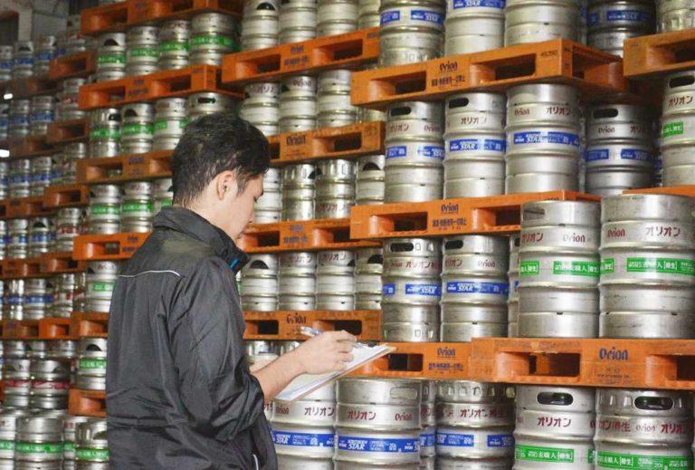 商品部の倉庫管理